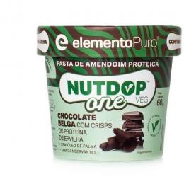 Nutdop One Pasta de Amendoim (60g) Elemento Puro - chocolate belga