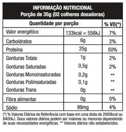 TABELA NUTRICIONAL -MORANGO COM HIBISCUS